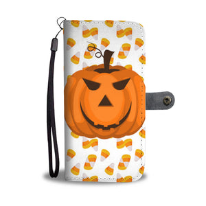 Halloween Pumpkin Wallet Case - Ineffable Shop