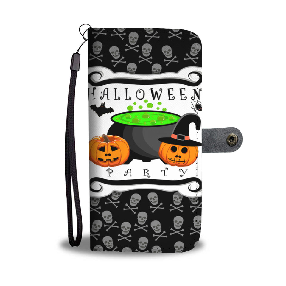 Halloween Party Pumpkin Wallet Case - - Ineffable Shop