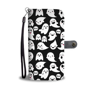 Halloween Boo Wallet Case - Ineffable Shop