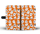 Halloween Boo Wallet Case