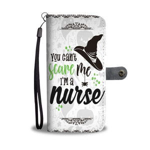 Halloween You Can't Scare Me I'm A Nurse Wallet Case - Ineffable Shop