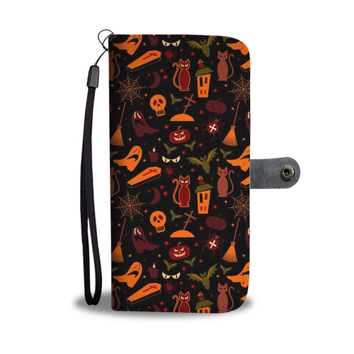 Happy Halloween Party Wallet Case - Ineffable Shop