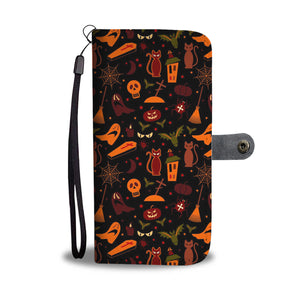 Happy Halloween Party Wallet Case - - Ineffable Shop