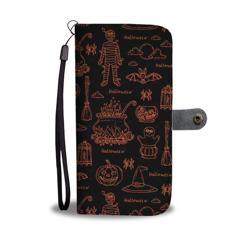 Halloween Wallet Case - - Ineffable Shop