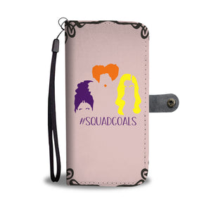 Halloween Squad Goals Wallet Case - - Ineffable Shop