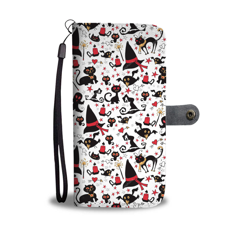 Halloween Cute Wallet Case HLW025 - - Ineffable Shop