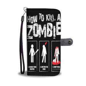 Halloween Zombie Wallet Case HLW028