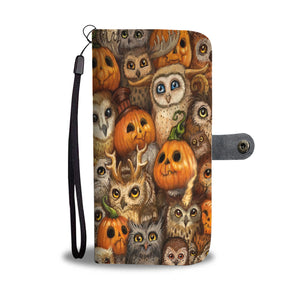 Halloween Wallet Case Design HLW030