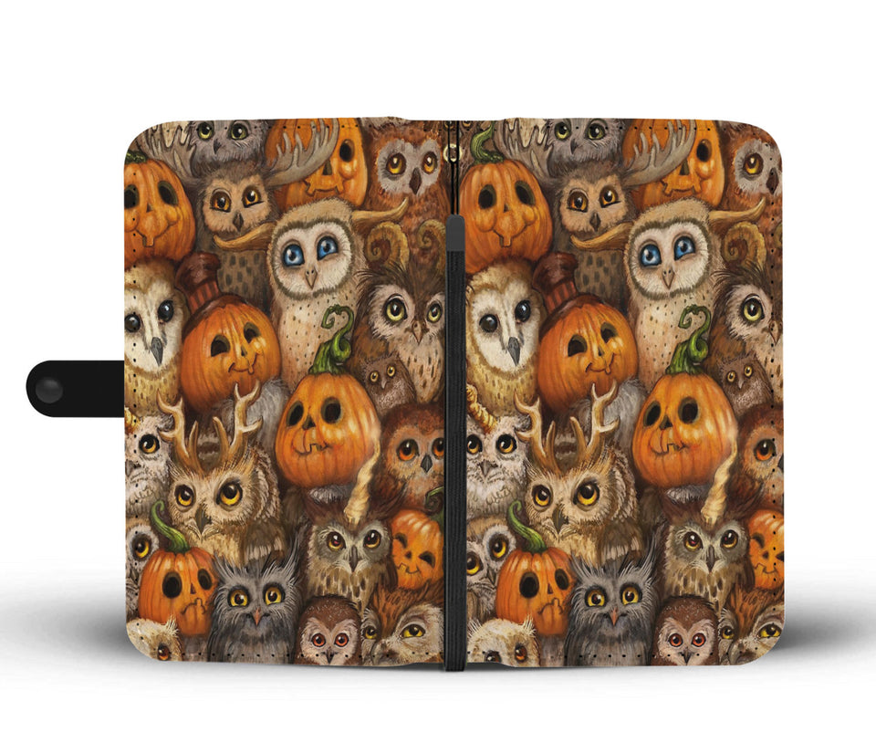 Halloween Wallet Case Design HLW030 - - Ineffable Shop