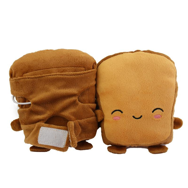 Toast Shaped USB Heated Hand Warmers - Smile - Ineffable Shop