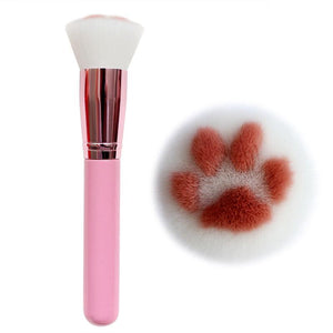 High Quality Cat Paw Makeup Brushes™ - Long Pink - Ineffable Shop