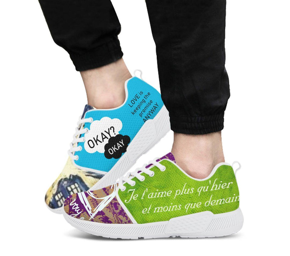 Harry Potter - Doctor Who Men's Athletic Sneakers HP0085 - - Ineffable Shop
