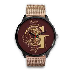 Harry Potter Gryffindor Watches - HPW002 - Mens 40mm / Rose Gold Metal Mesh - Ineffable Shop