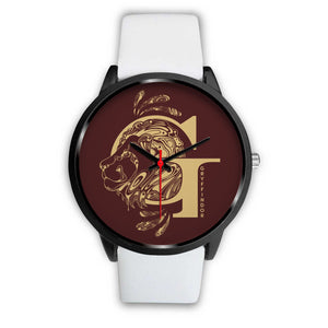 Harry Potter Gryffindor Watches - HPW002 - Mens 40mm / White Leather - Ineffable Shop