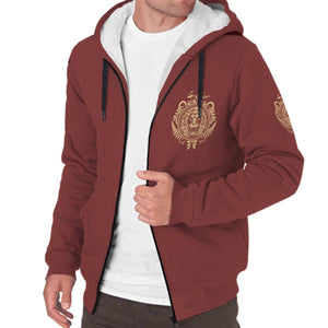 Harry Potter Gryffindor Sherpa Hoodie HPSH001 - - Ineffable Shop