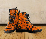 Happy Halloween Leather Boots HLW003 - - Ineffable Shop