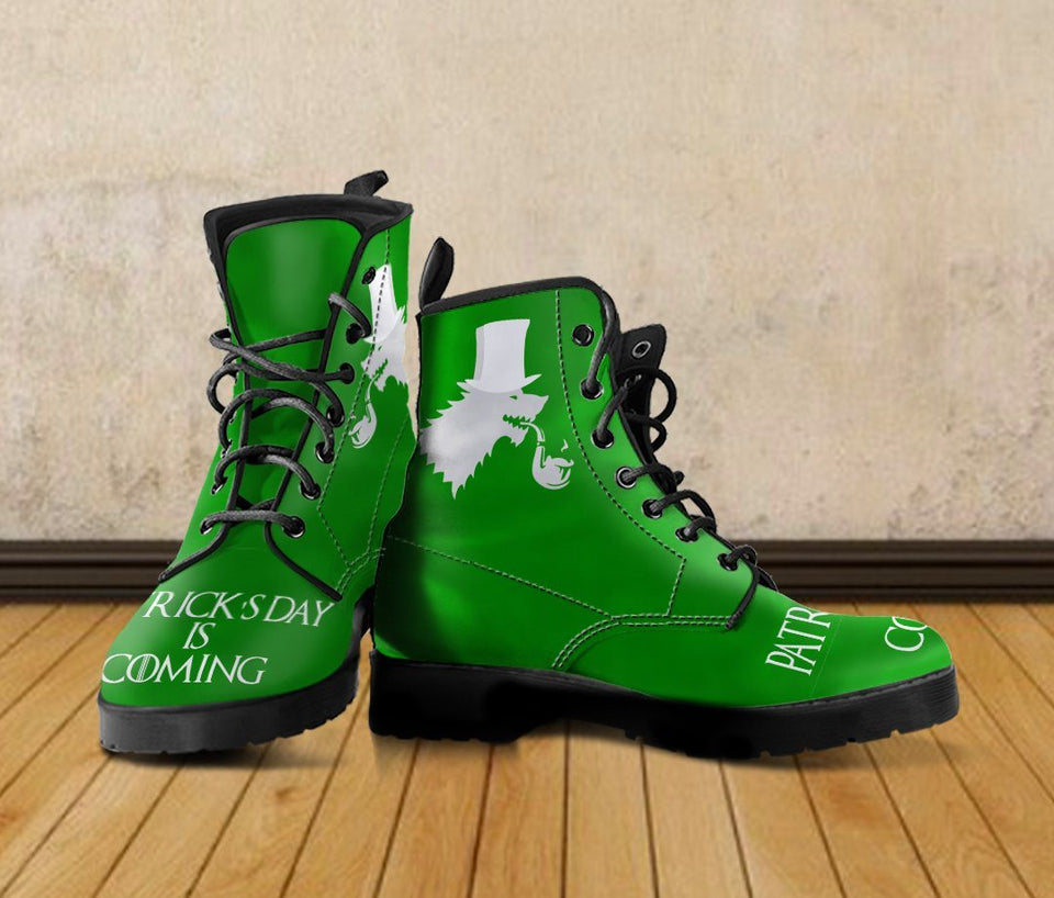 Patrick's Day Is Coming Women's Boots - - Ineffable Shop