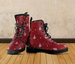 New Design Christmas Leather Boots - - Ineffable Shop