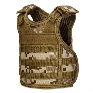 Tactical Premium Beer Military Molle | Mini Miniature Hunting Vests Beverage Cooler - - Ineffable Shop