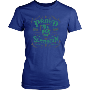 Slytherin District Womens Shirt - District Womens Shirt / Royal Blue / XS - Ineffable Shop