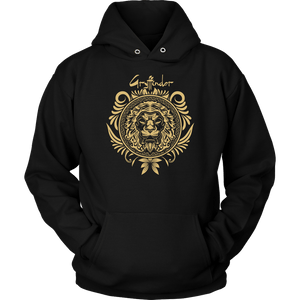 Harry Potter Vintage Gryffindor Badge Unisex Hoodie - Unisex Hoodie / Black / S - Ineffable Shop