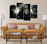 Harry Potter 4 Piece Framed Canvas HP0082 - Ineffable Shop