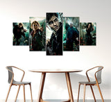Harry Potter 5 Piece Framed Canvas HP0083
