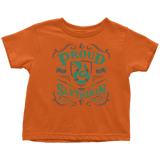 Slytherin Toddler T-Shirt - Toddler T-Shirt / Orange / 2T - Ineffable Shop