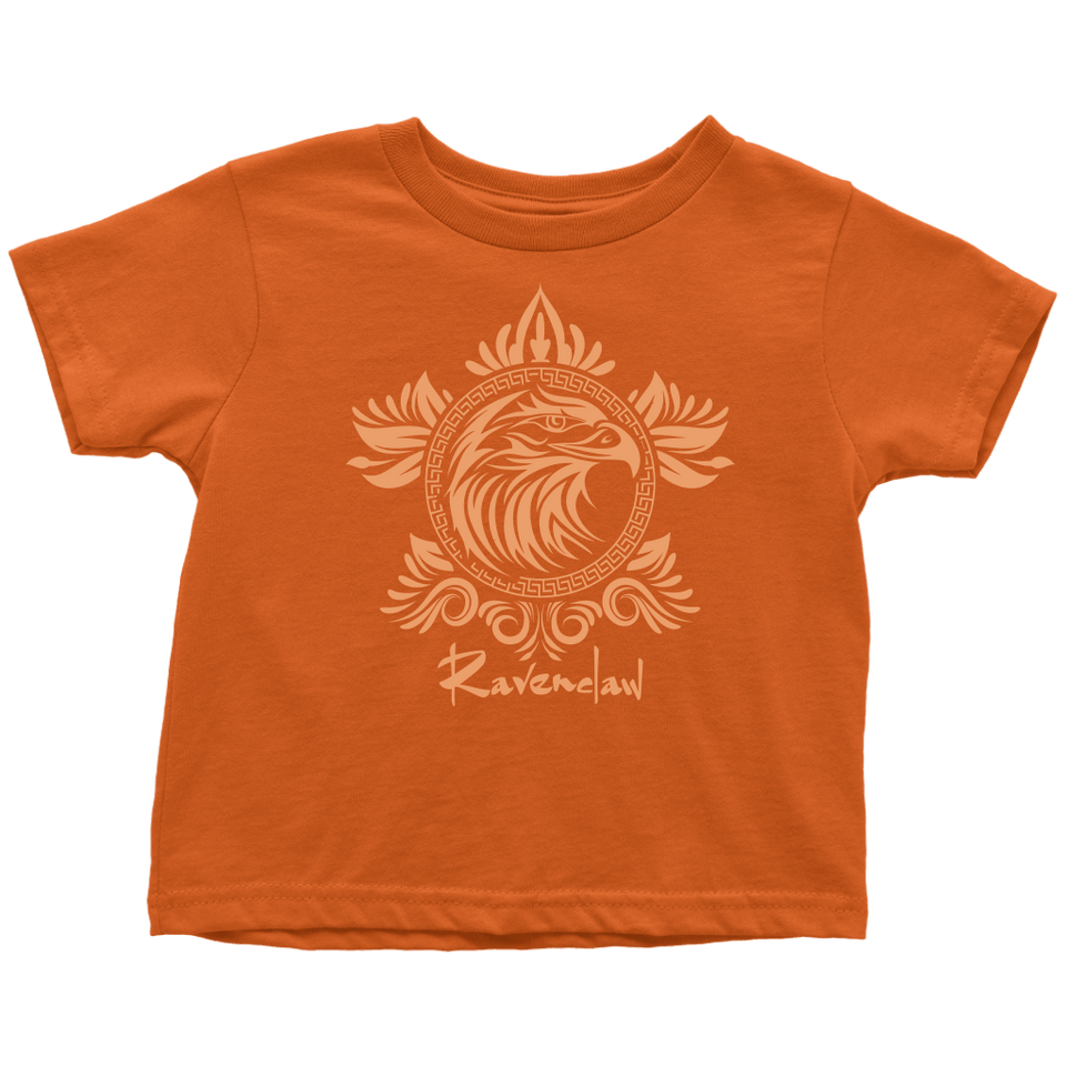 Harry Potter Vintage Ravenclaw Toddler T-Shirt - Toddler T-Shirt / Orange / 2T - Ineffable Shop