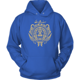 Harry Potter Vintage Gryffindor Badge Unisex Hoodie - Unisex Hoodie / Royal Blue / S - Ineffable Shop