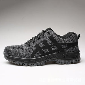 UNISEX INDESTRUCTIBLE BULLETPROOF ULTRA X PROTECTION SHOES - Black / US6 (EU37) - Ineffable Shop