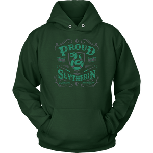 Slytherin Unisex Hoodie - Unisex Hoodie / Dark Green / S - Ineffable Shop