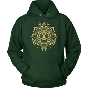 Harry Potter Vintage Gryffindor Badge Unisex Hoodie - Unisex Hoodie / Dark Green / S - Ineffable Shop