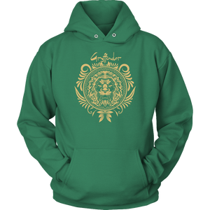 Harry Potter Vintage Gryffindor Badge Unisex Hoodie - Unisex Hoodie / Kelly Green / S - Ineffable Shop