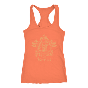 Harry Potter Vintage Ravenclaw Next Level Racerback Tank - Next Level Racerback Tank / Light Orange / XS - Ineffable Shop