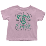 Slytherin Toddler T-Shirt - Toddler T-Shirt / Pink / 2T - Ineffable Shop