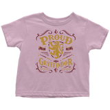 Gryffindor Pride Toddler T-Shirt - Toddler T-Shirt / Pink / 2T - Ineffable Shop