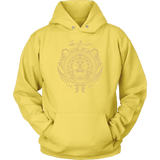 Harry Potter Vintage Gryffindor Badge Unisex Hoodie - Unisex Hoodie / Yellow / S - Ineffable Shop