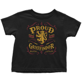 Gryffindor Pride Toddler T-Shirt - Toddler T-Shirt / Black / 2T - Ineffable Shop