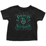 Slytherin Toddler T-Shirt - Toddler T-Shirt / Black / 2T - Ineffable Shop