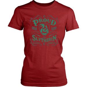 Slytherin District Womens Shirt - District Womens Shirt / Red / XS - Ineffable Shop