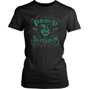 Slytherin District Womens Shirt - District Womens Shirt / Black / XS - Ineffable Shop