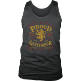 Gryffindor Pride District Mens Tank - District Mens Tank / Charcoal / S - Ineffable Shop