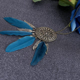 Native American Fringe Necklace - - Ineffable Shop
