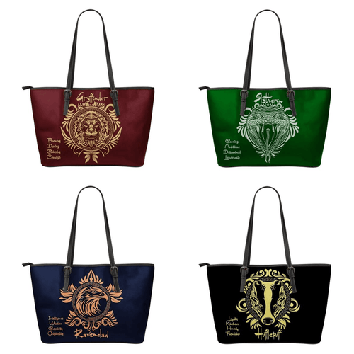 Harry Potter 4 Houses Small Tote HP0043 - - Ineffable Shop