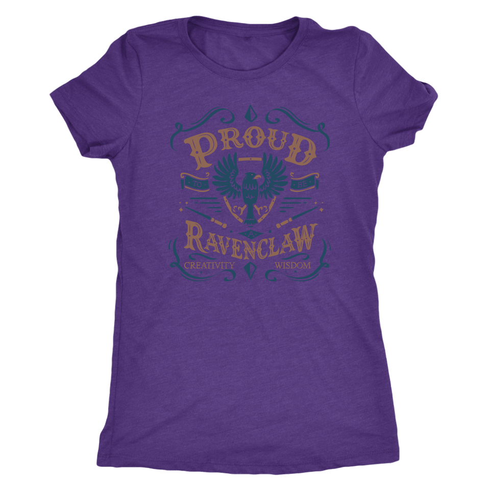 Ravenclaw Pride Next Level Womens Triblend - Next Level Womens Triblend / Purple Rush / S - Ineffable Shop