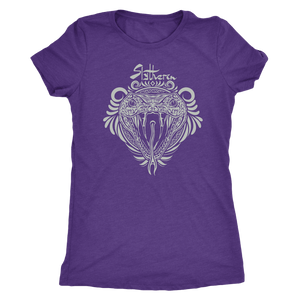 Harry Potter Vintage Slytherin Next Level Womens Triblend - Next Level Womens Triblend / Purple Rush / S - Ineffable Shop