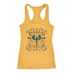 Ravenclaw Pride Next Level Racerback Tank - Next Level Racerback Tank / Banana Cream / XS - Ineffable Shop