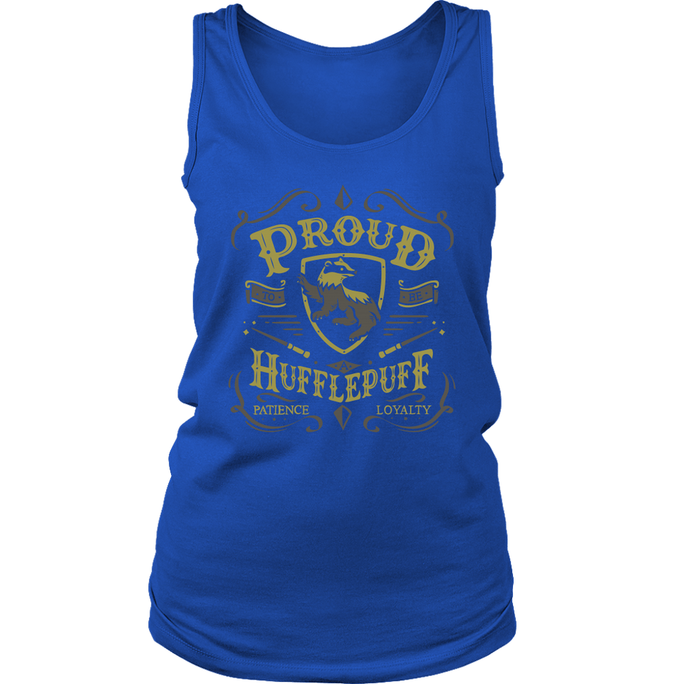 Hufflepuff Pride District Womens Tank - Ineffable Shop