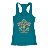 Harry Potter Vintage Ravenclaw Next Level Racerback Tank - Next Level Racerback Tank / Turquoise / XS - Ineffable Shop